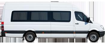 Аренда микроавтобуса на свадьбу 15-20 мест в СПб