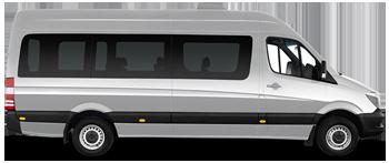 Автобус на свадьбу с водителем в СПб, 15-20 мест
