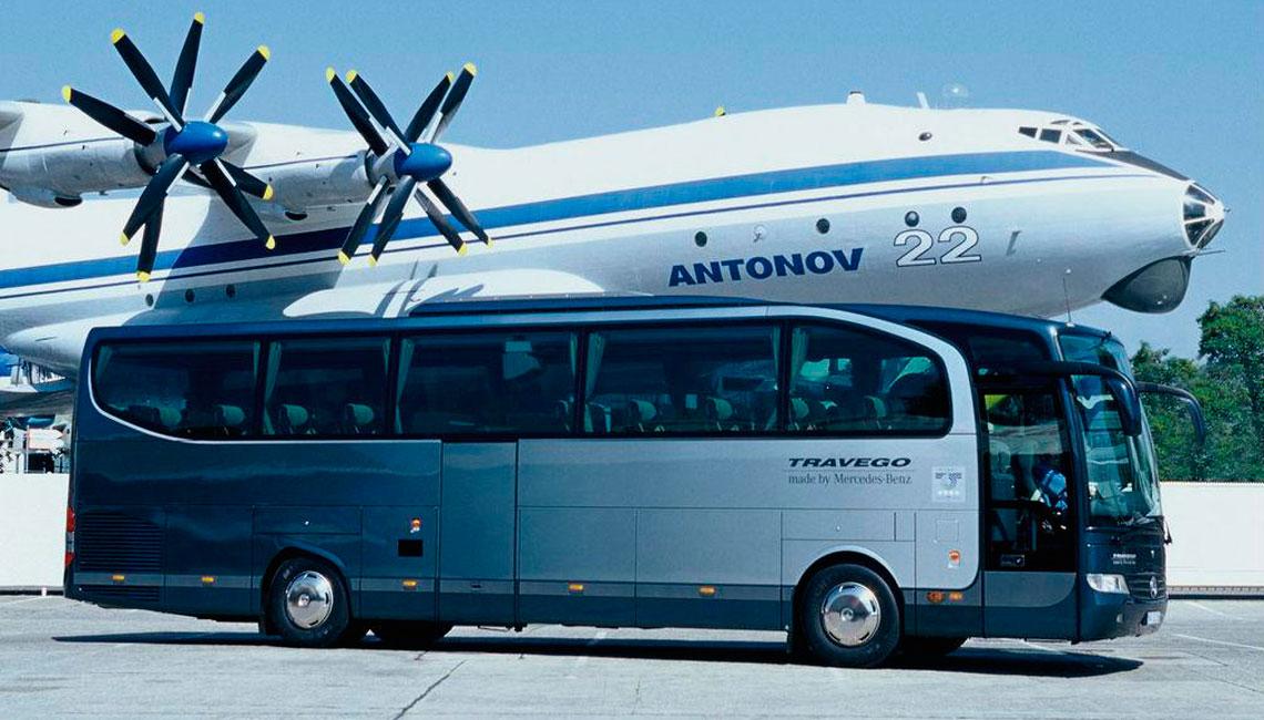 Трансфер в аэропорт Пулково на автобусе СПб Autoproject