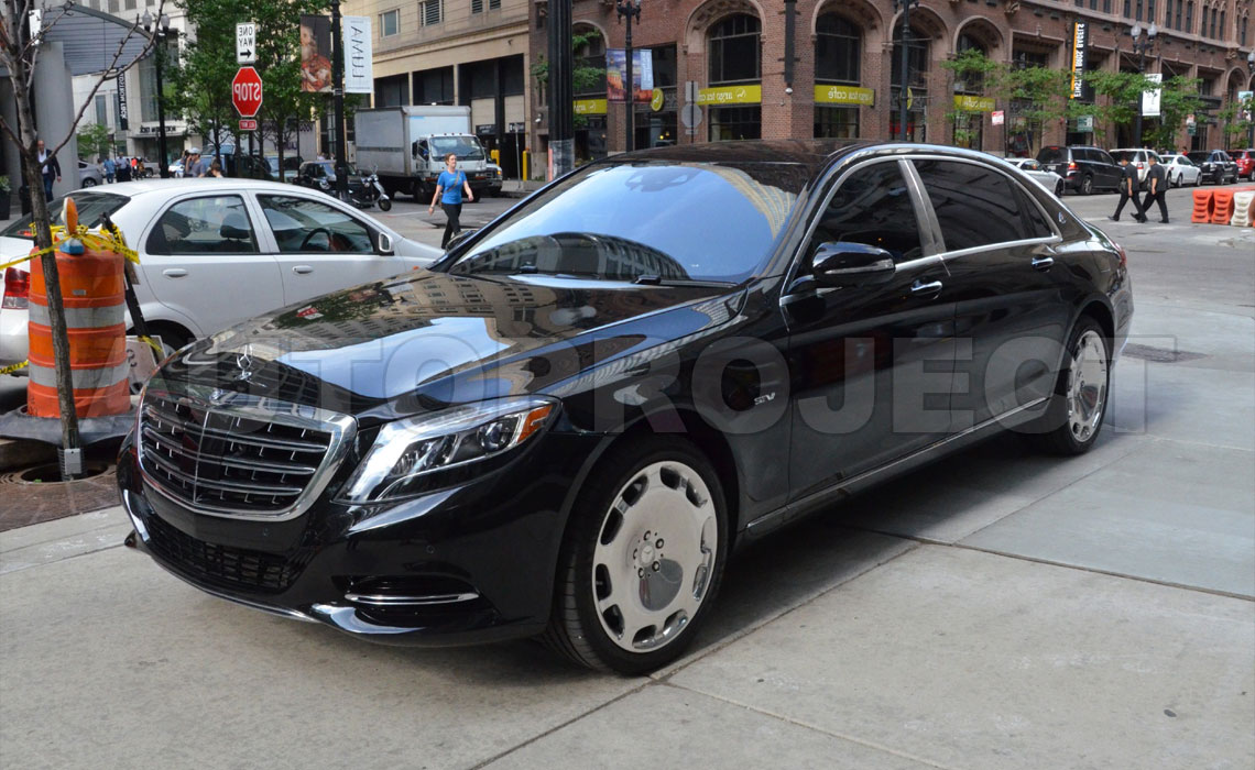 Аренда представительских автомобилей Mercedes с водителем в СПб от Autoproject