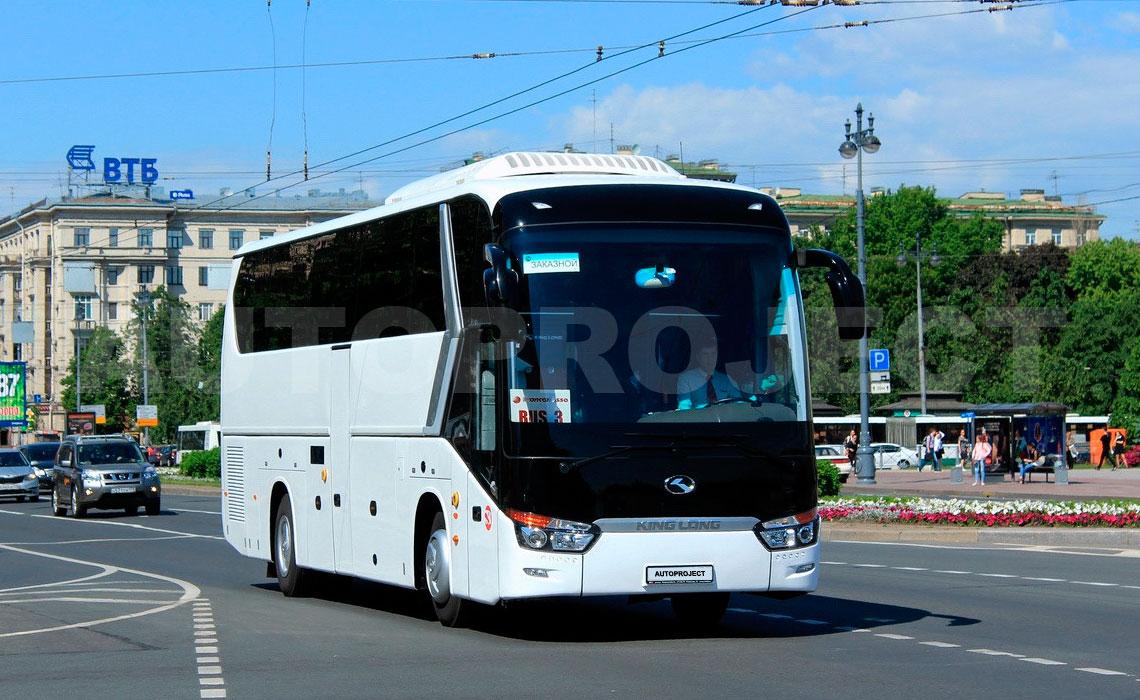 Аренда ВИП автобуса с водителем для экскурсии в СПб