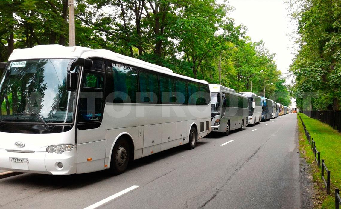 Экскурсия на автобусе по Санкт-Петербургу и Ленобласти