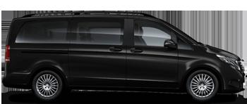 minivan Mercedes V Class для служебной развозки