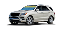 Mercedes-Benz ML 350 White Autoproject